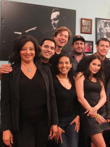 Wonderful actors Sasha, Adam, Michele, Dylan, Mike, Al  and Christiana