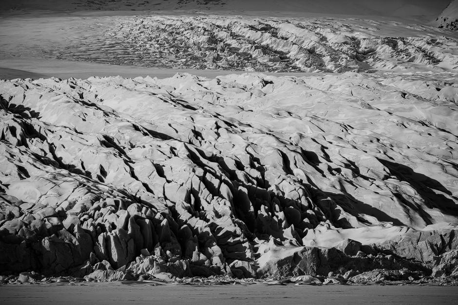 Mächtiger Gletscherbruch