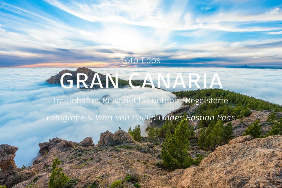"""Titelbild Foto Epos Gran Canaria """"Pico de la Nieves im Nebel bei Inversionswetterlage"""": Gran Canaria - Traumhaftes Reiseziel für outdoor Begeisterte."""