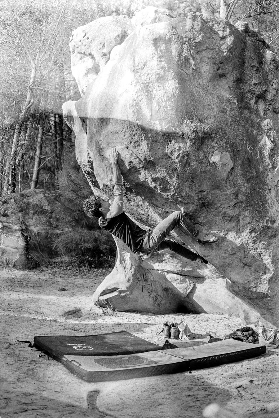 Bouldern Sportfotografie bastianpaas.de Fontainebleau