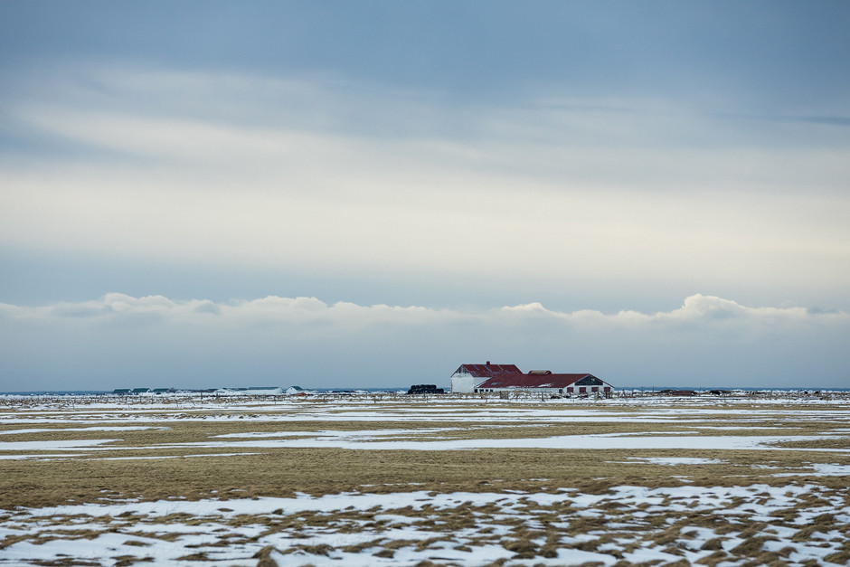 Vorbeiziehende, schnell wechselnde Landschaften. Fotostory Island.