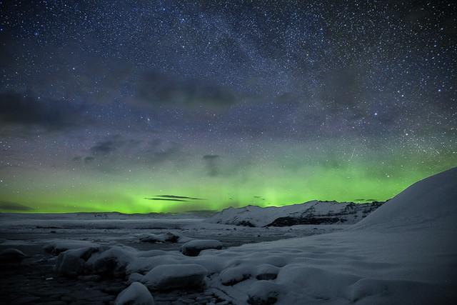 Nordlichter in Island mit dem Sigma 20mm f/1.4 Art.