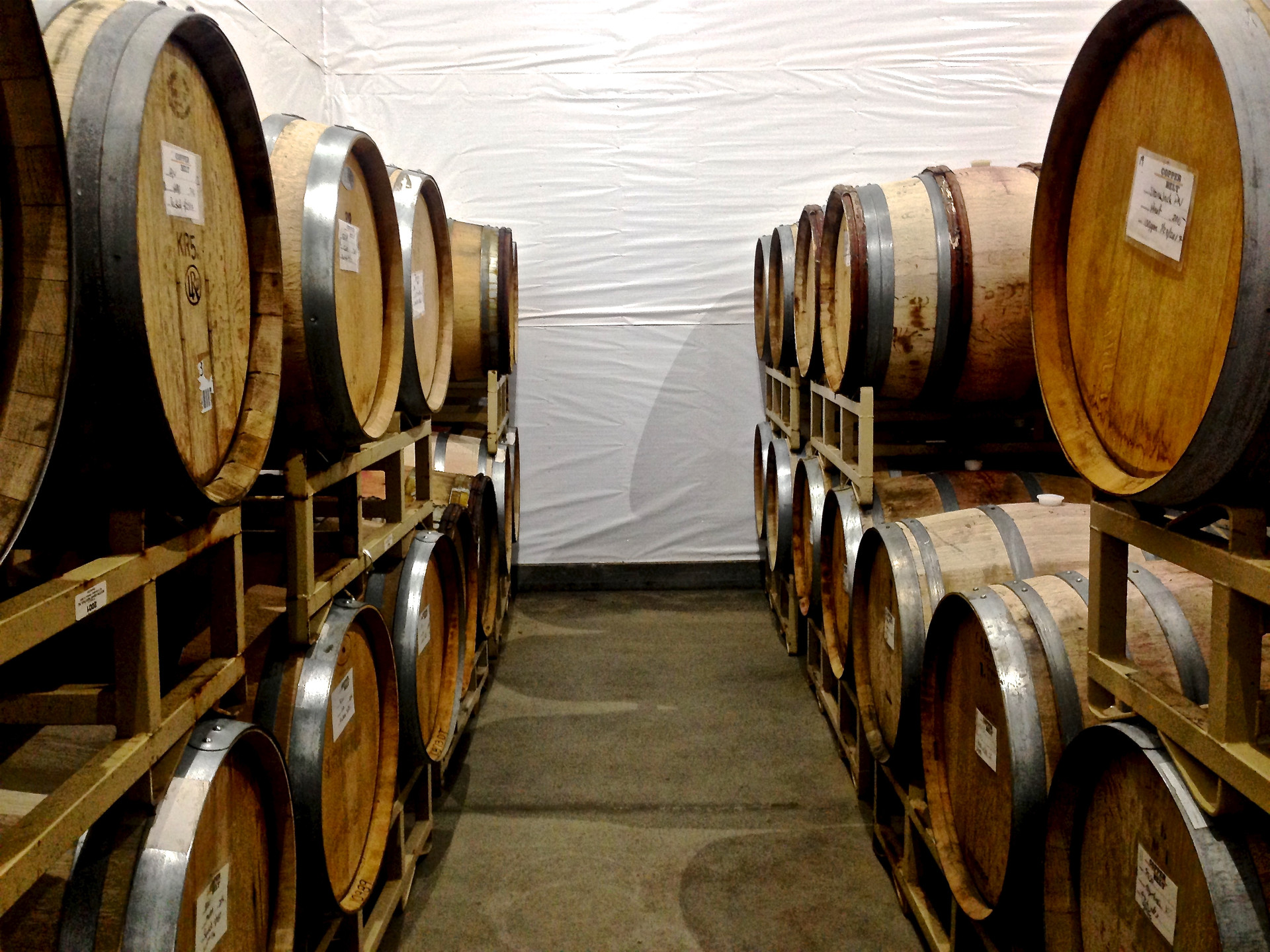 If you're lucky you'll get to do a barrel tasting