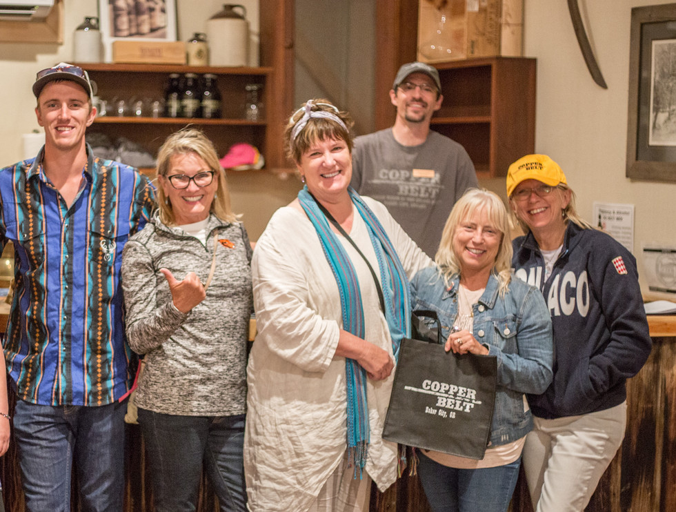 Great Group at the Winery