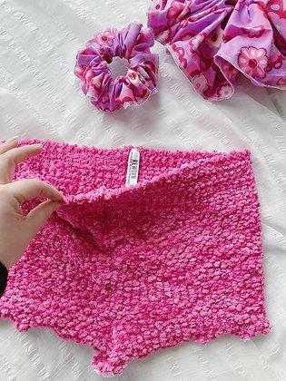 Pink Popcorn Hot Shorts
