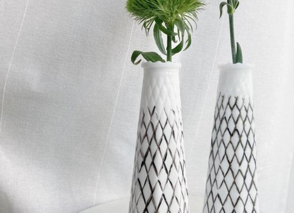 Ruffle Neck Thigh High Vase
