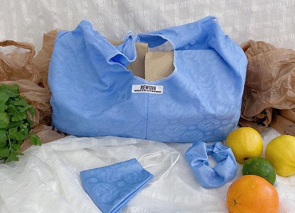 Blue Cola Bag Set