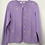 Thumbnail: Lilac Embroidered Cardigan