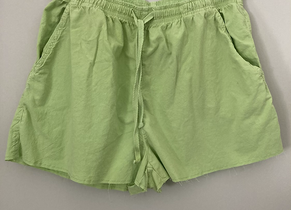 Pastel Raw Hem Shorts