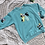 Thumbnail: Butterfly Patchwork Sweatshirt