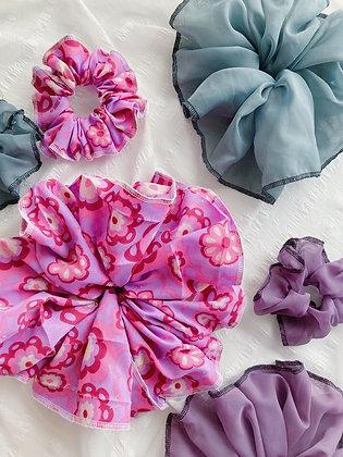 Mega Groovy Bloom Scrunchie