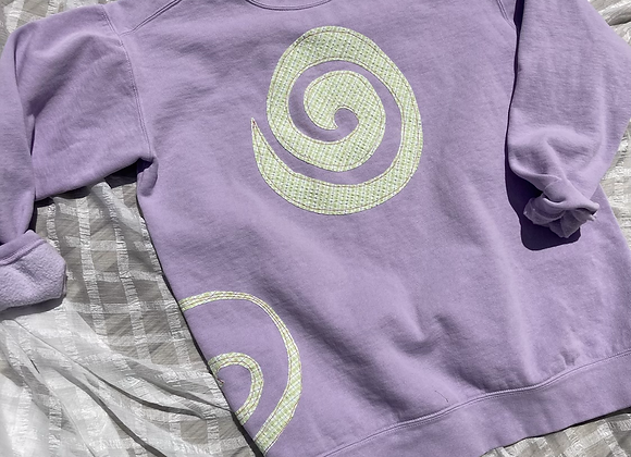 Pastel Swirl Sweatshirt
