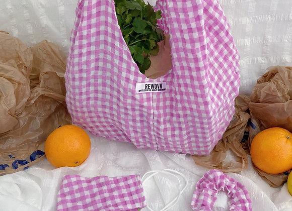 Pink Lemonade Market Bag Set