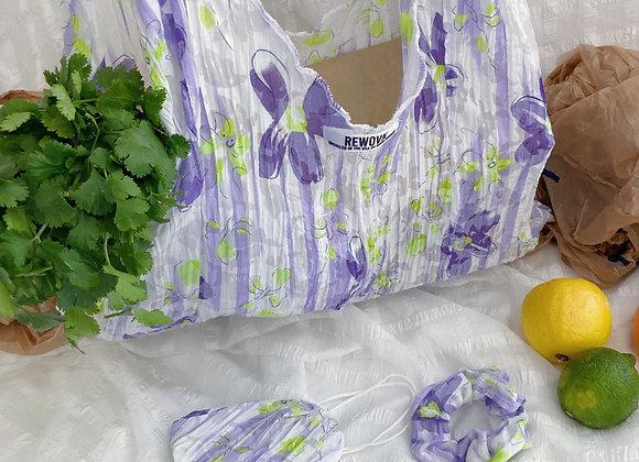 Grape Lime Market Bag Set