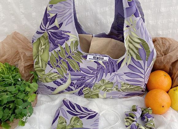 Tropical Grape Market Bag Set