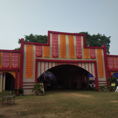 Re-defining Pujo 2020 : Upcycling Pandals