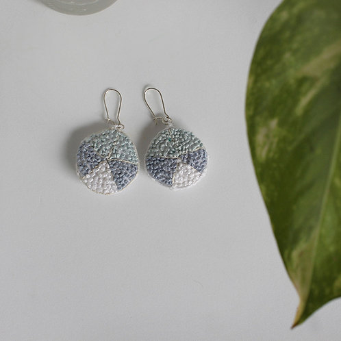 Three Berry Pie Earring