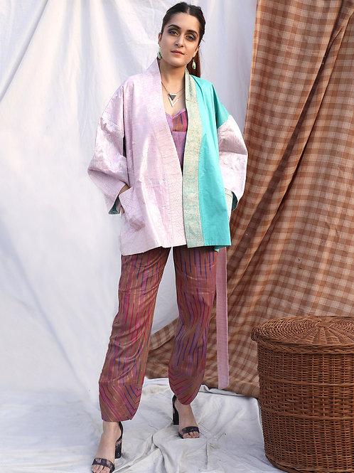 Cotton Candy Vintage Kimono