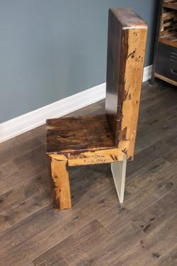 Barn beam chair