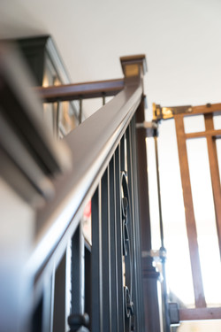 Stair re-finishing