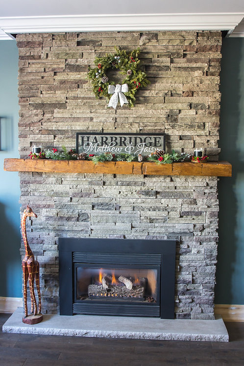 Barn Beam Mantle