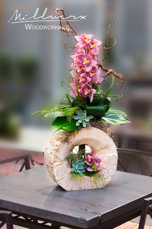 Spalted wood Vase