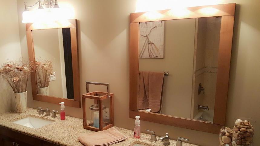 Matching Vanity Mirrors