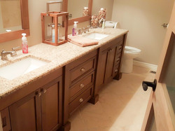 Long Maple Vanity 2