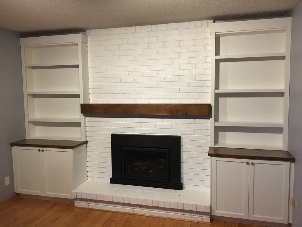 Fireplace built-in