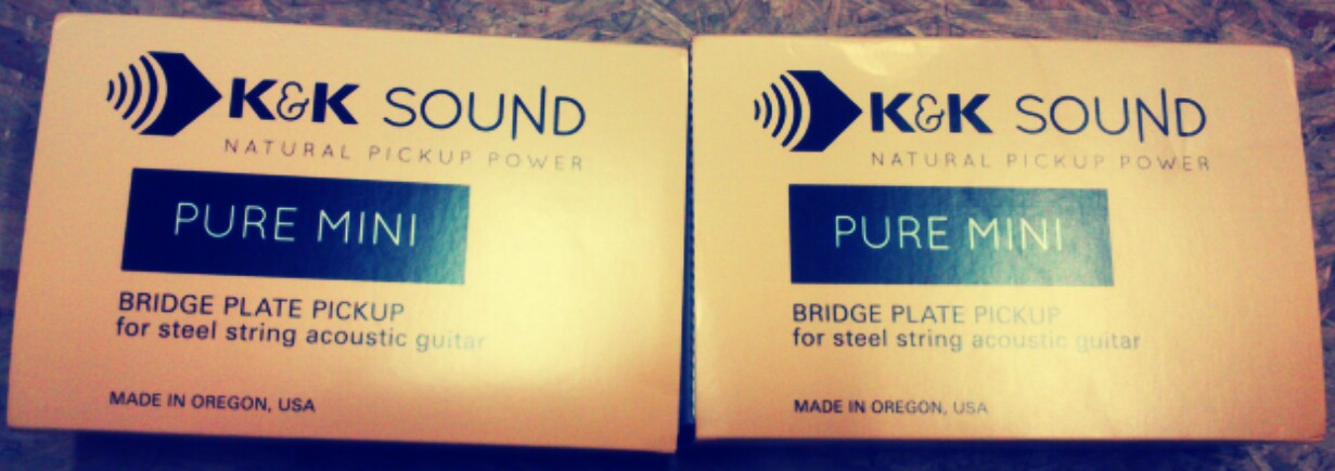 K&K Pure pickups
