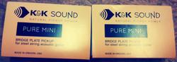 K&K Pure pickups