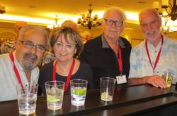 Vincent Caporusso, Helga Osterman, Les Olander and Ron  Winkler