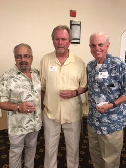 Vincent Caporusso, Ross Willour and  Al Rogers