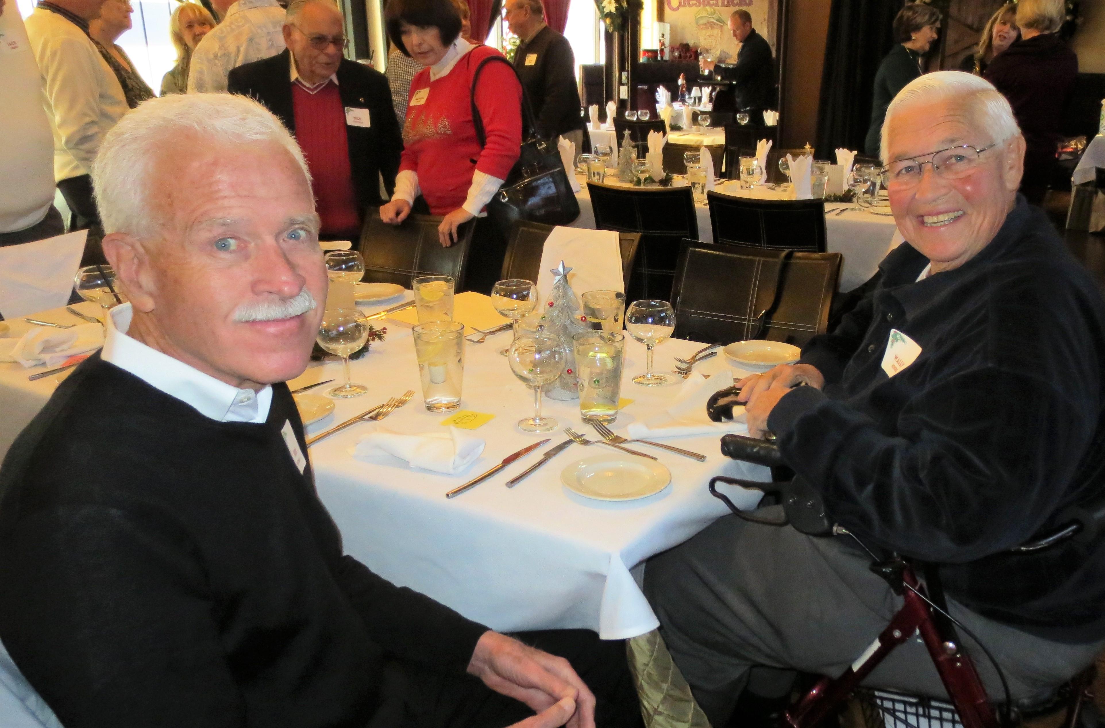 Ron Hudnall and Wally Kendig