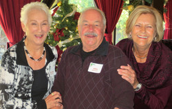 Jo Ann and Greg Bowman with Melissa  Rogers