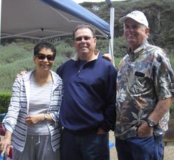 Lisa and Henry Burt with Al Rogers