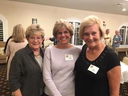Betty Bidwell, Pat Fitzpatrick and  Mo Rogers