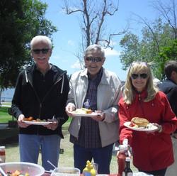 Ron Hudnall, Stan and Cheryl Newton - Copy