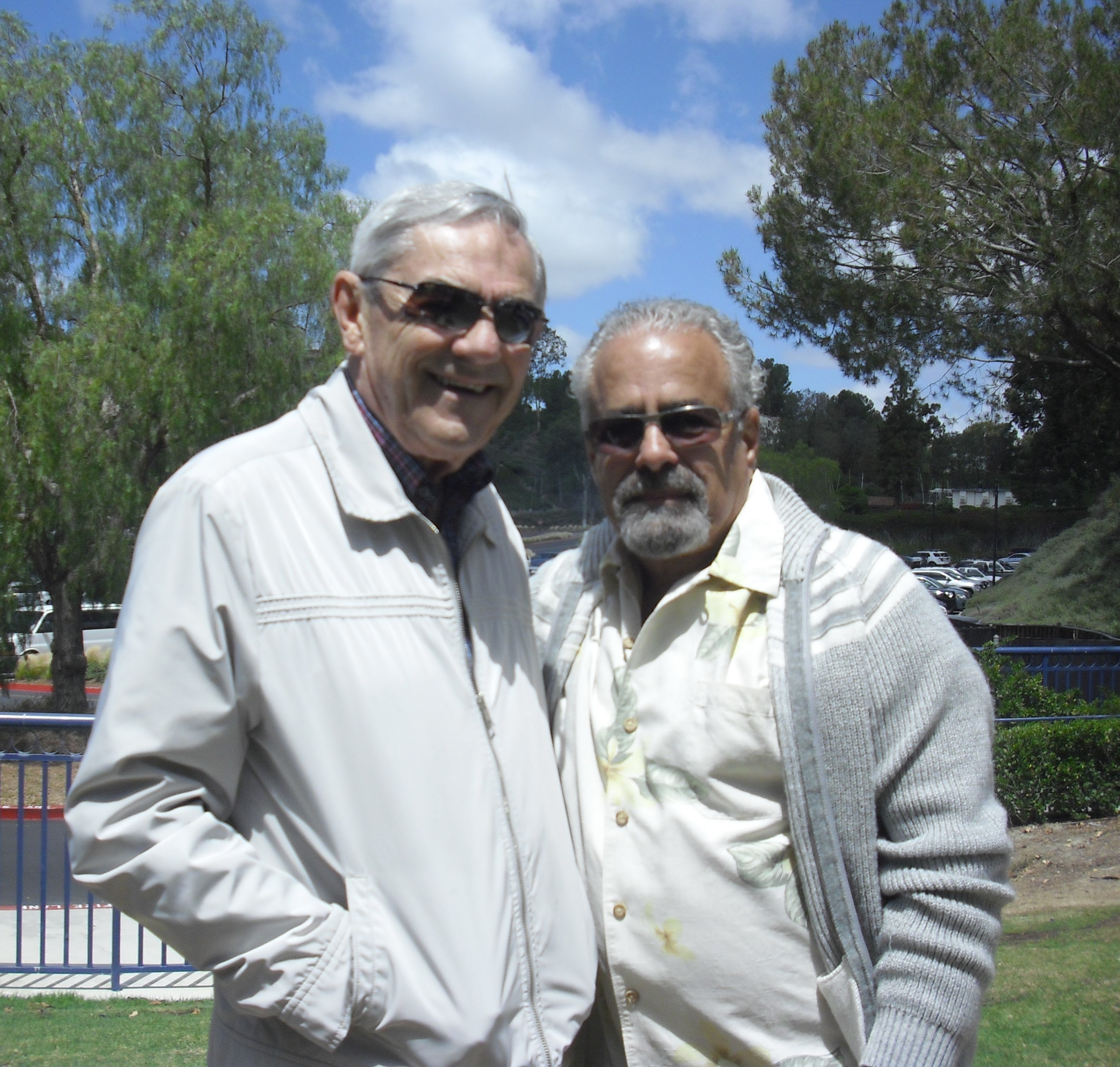 Stan Newton and Vincent Caporusso
