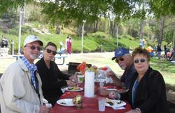 Walt & Debbie Parker Dining with Jennifer & Jeff  Paige