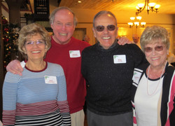 Pat & Frank Fitzpatrick with Bill &  Martha Shaver