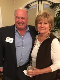 Wayne Burt and Cari Miller