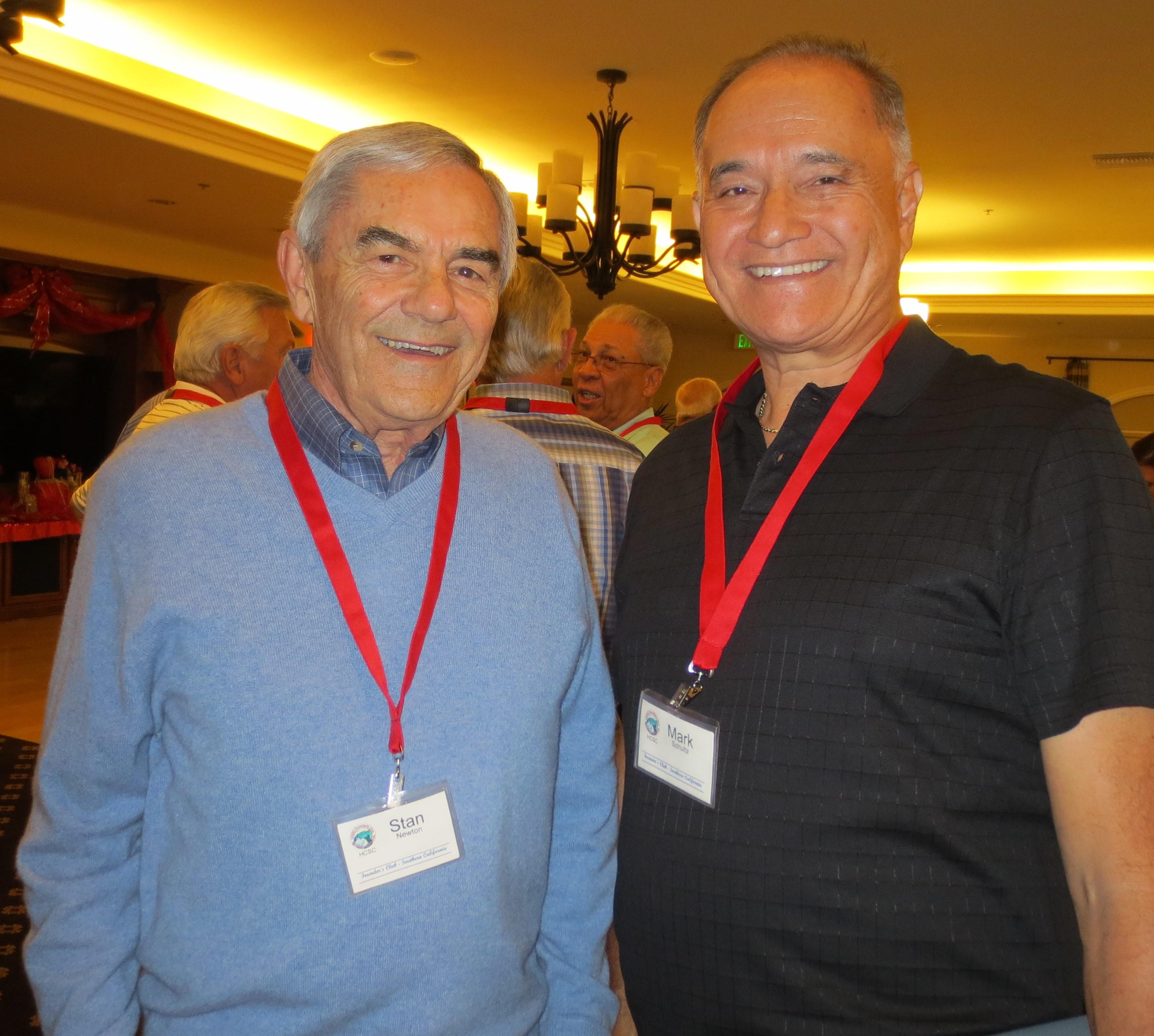 Stan Newton and Mark Schultz