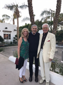Cheryl and Stan Newton with Jim  Sivelle