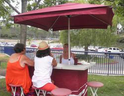 Wayne Burts bar also provided shade to our members.jpg