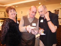 Veta and Tony Zarifis with George  Steele