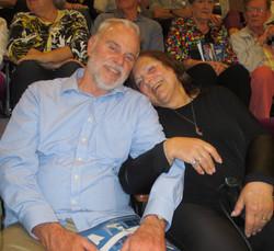 Ron & Ruth Winkler Await the Start of Jersey Boys