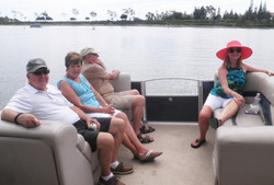 Ron Salzetti, Veta and Tony Zarifis and Cheryl Newton  cruising the west side of