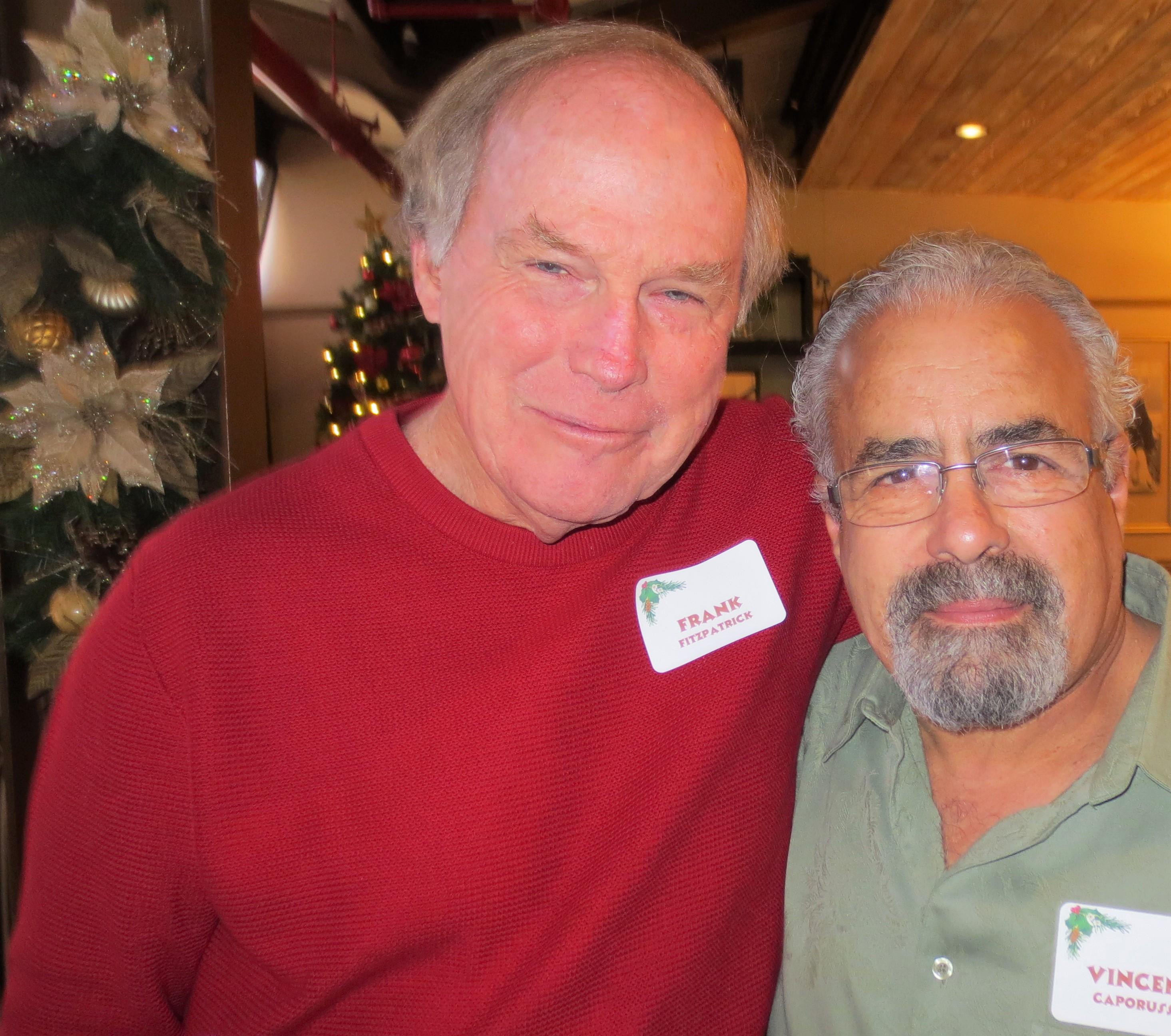 Frank Fitzpatrick and Vincent  Caporusso