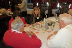 Dick Scoville (back), Monica Burke  and Cheryl Newton
